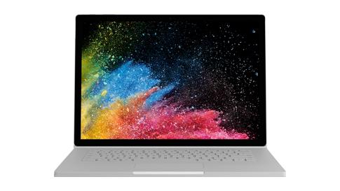Rendering del dispositivo Surface Book 2
