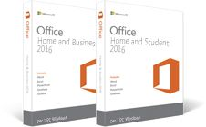 Office Home & Business 2016, Office Home & Student 2016