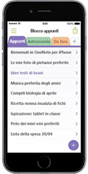 OneNote per iPhone