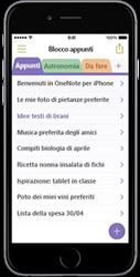 OneNote per iPhone