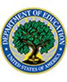 Logo del Department of Education, informati sulla conformità al Family Educational Rights and Privacy Act