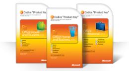 Uso della scheda del codice Product Key di Office 2010