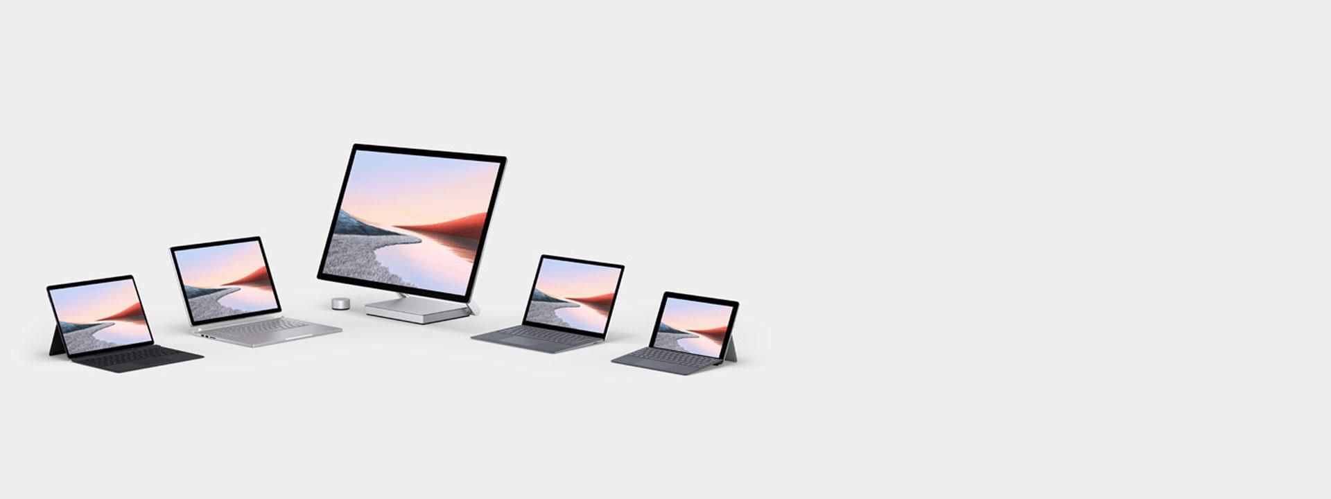 La nuova famiglia di dispositivi Surface