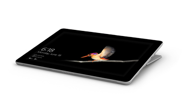 Surface Go con Surface Go Signature Type Cover in modalità Studio