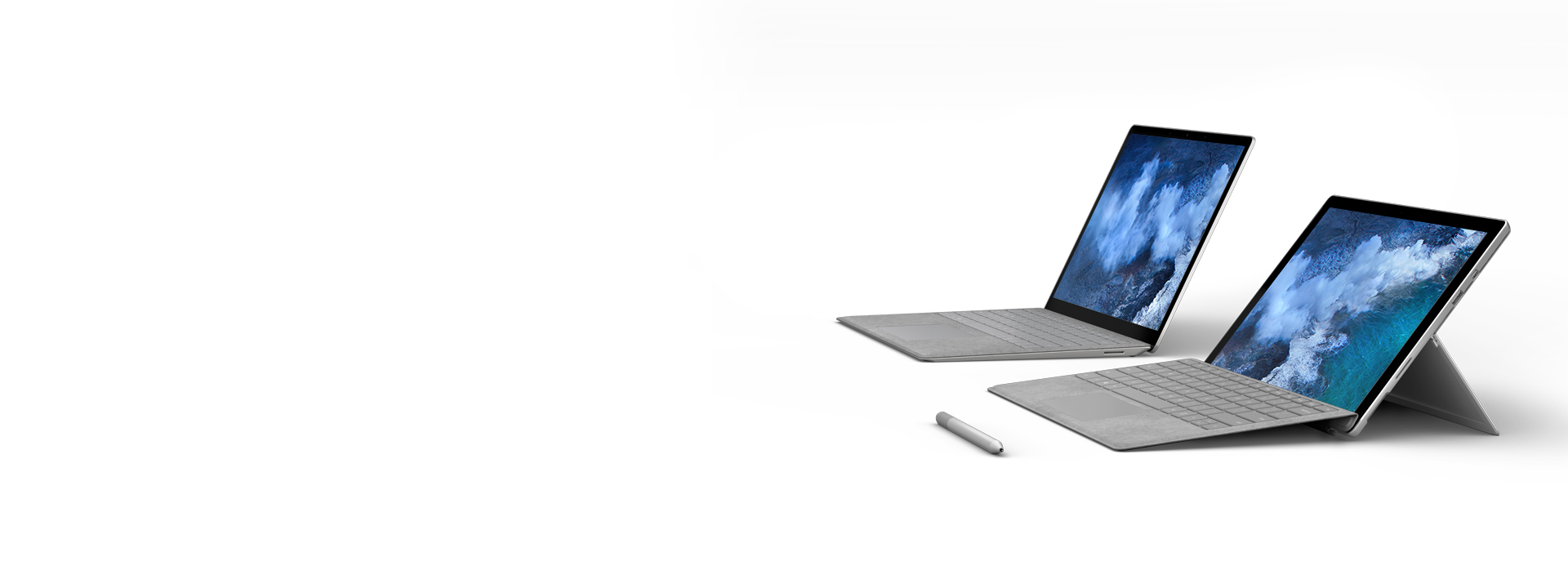 Surface Studio, Surface Book and Surface Pro 4