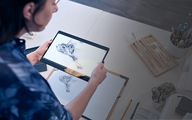 Windows Ink su tablet Lenovo Yoga 900