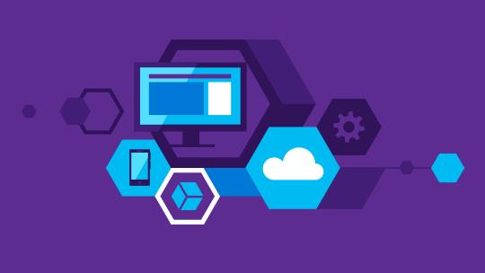 Icone relative a tecnologie, scarica Visual Studio 2015