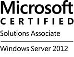 MCSA Windows windows Server 2012 logo