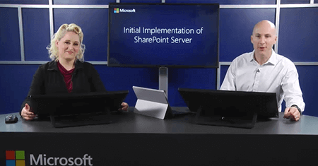 Initial Implementation of SharePoint Server