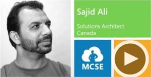 Sajid Ali, Solutions Architect, Canada