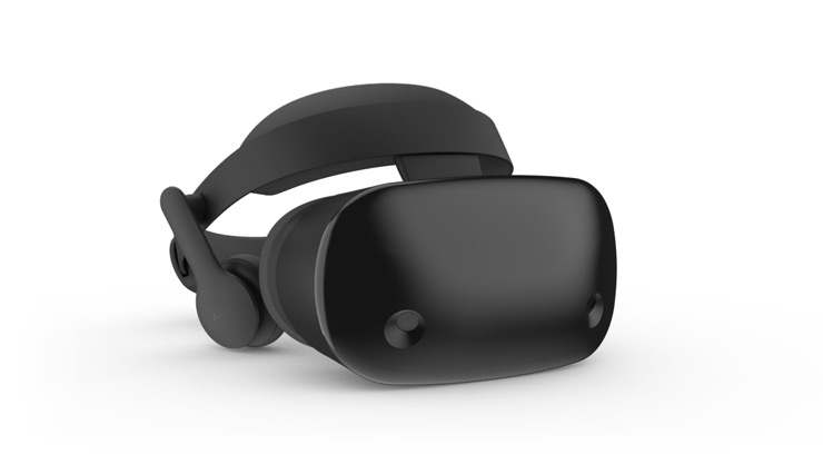 Windows Mixed Reality ヘッドセット。