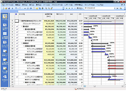 Project Standard 2010 の導入
