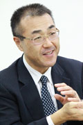 写真:株式会社みちのく銀行 システム統括部次長 川原田 勝幸 氏