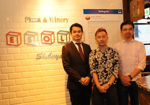 写真左より:鳥居 暁 氏、吉田 和人 氏、鳥居 陽開 氏