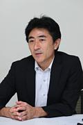 写真:コマツ スマートコンストラクション推進本部 システム開発部 部長 赤沼 浩樹 氏