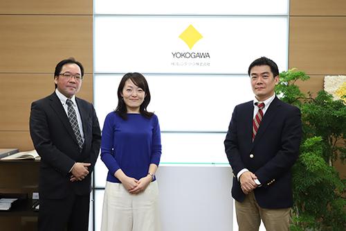 写真左より、田中 氏、東入來 敦子 氏、浅野井 氏