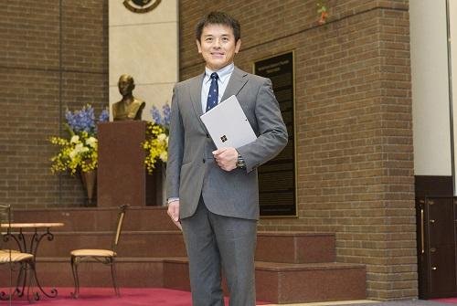 写真: 仙台育英学園高等学校 情報科学コース 教務部長 日野 彰 氏