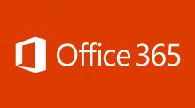 Office 365 のロゴ、Office ブログの「6 月の更新: Office 365 セキュリティおよびコンプライアンス」を読む