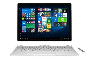 Microsoft Surface Book と Surface ペン