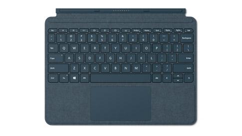 コバルト ブルーの Surface Go Signature Type Cover