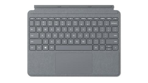 プラチナの Surface Go Signature Type Cover