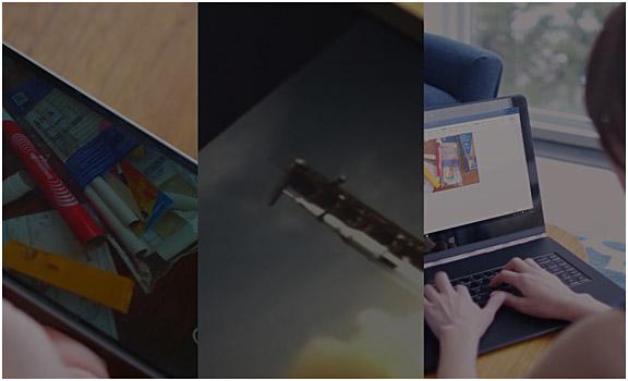 Office 365 を表示している複数のデバイス