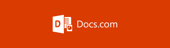 Docs.com のアイコン