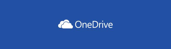 OneDrive のアイコン