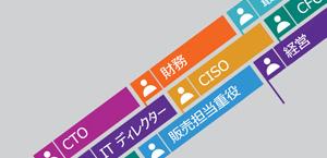 役職の一覧。Office 365 Enterprise E5 の説明