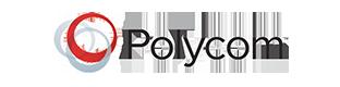 Polycom のロゴ