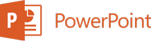 PowerPoint のロゴ
