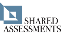 SHARED-ASSESSMENTS ロゴ。Shared Assessments Program の詳細情報を参照します。