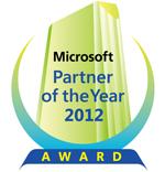 マイクロソフト パートナー オブ ザ イヤー 2012