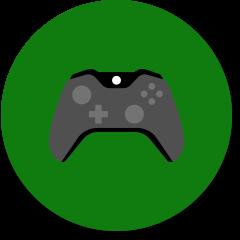 コントローラーのゲームのアイコン