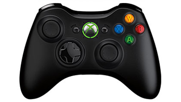 Xbox 360 Wireless Controller for Windows (Xbox 360 ワイヤレス コントローラー フォー ウィンドウズ リキッド ブラック)