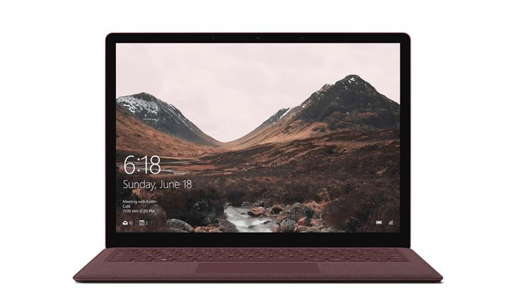 Surface Laptop のデバイス レンダリング