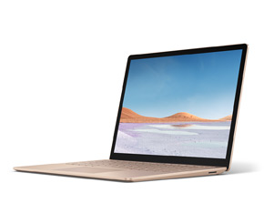 Surface Laptop 3 のレンダリング