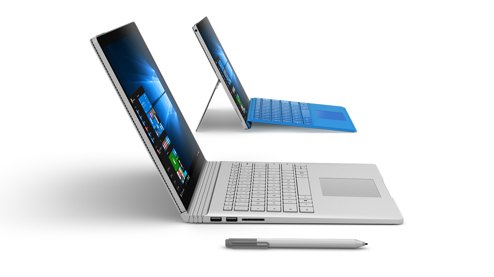 Surface Book、Surface Pro 4