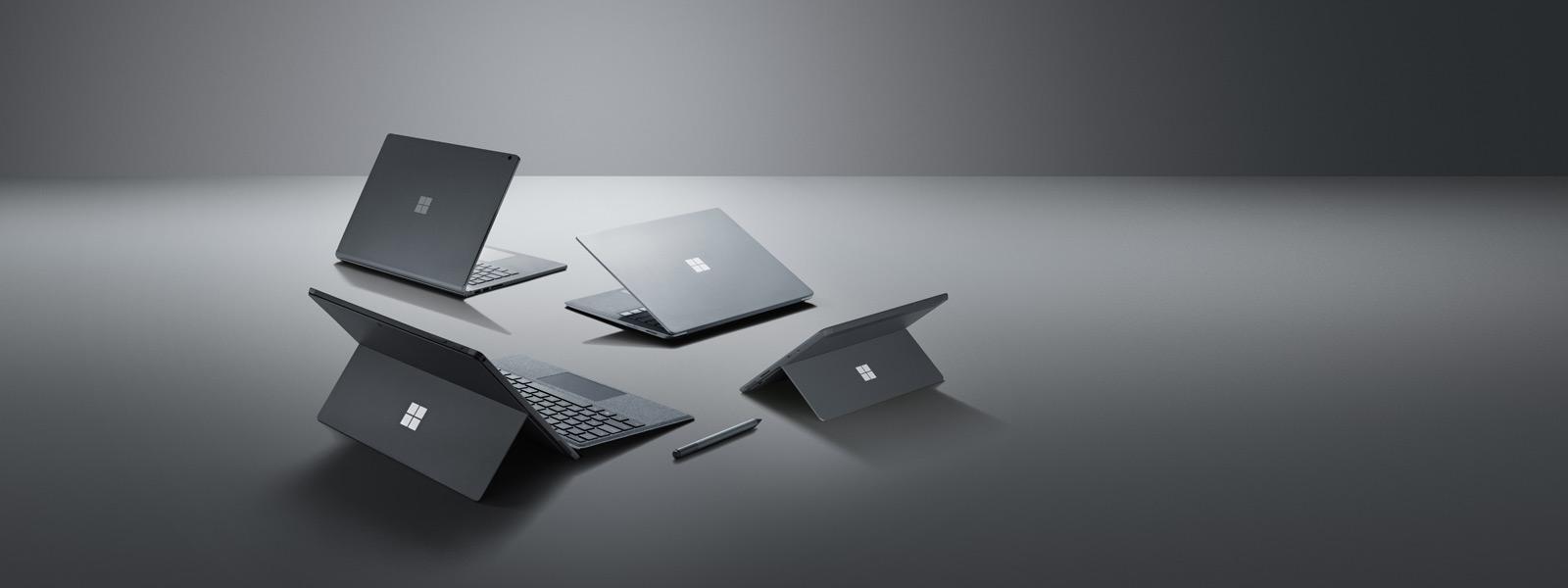 Surface シリーズのコンピューターと Surface ペン