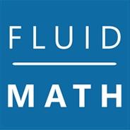 FluidMath のロゴ