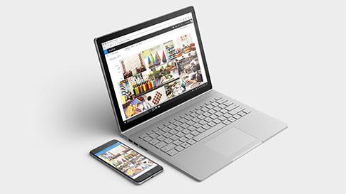 どの Surface デバイスでもあなたのスマートフォンと同期できます