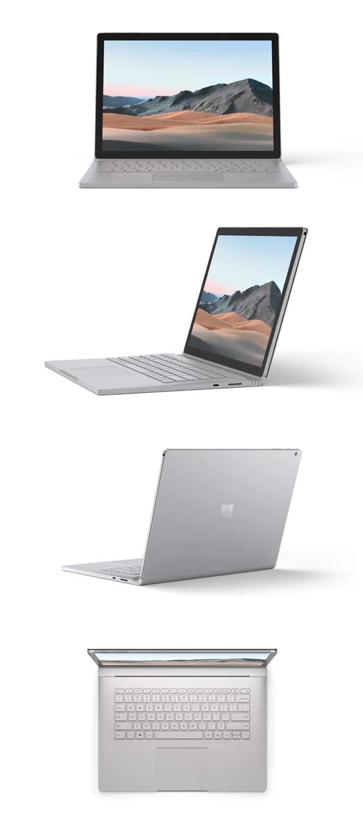 Surface Book 3 13.5 インチ 本体正面