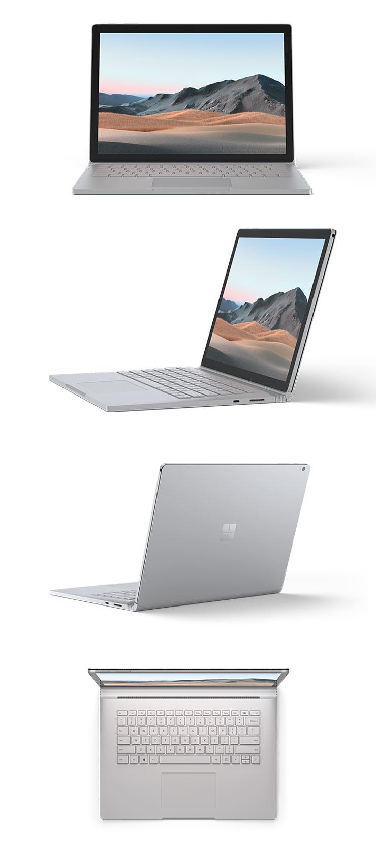 Surface Book 3 15 インチ 本体正面