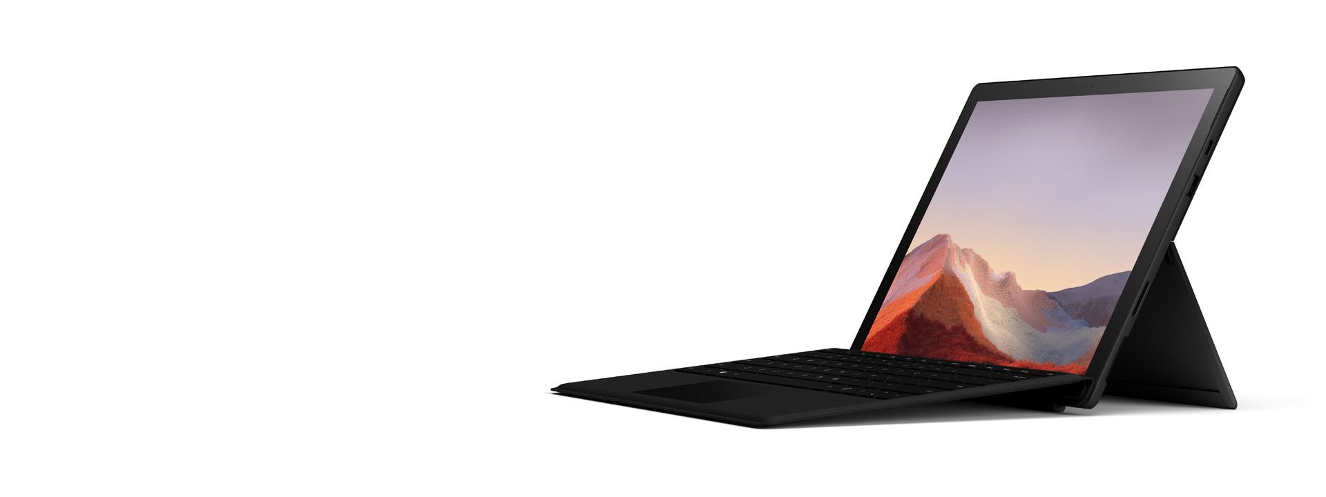 マットブラックの Surface Pro 7