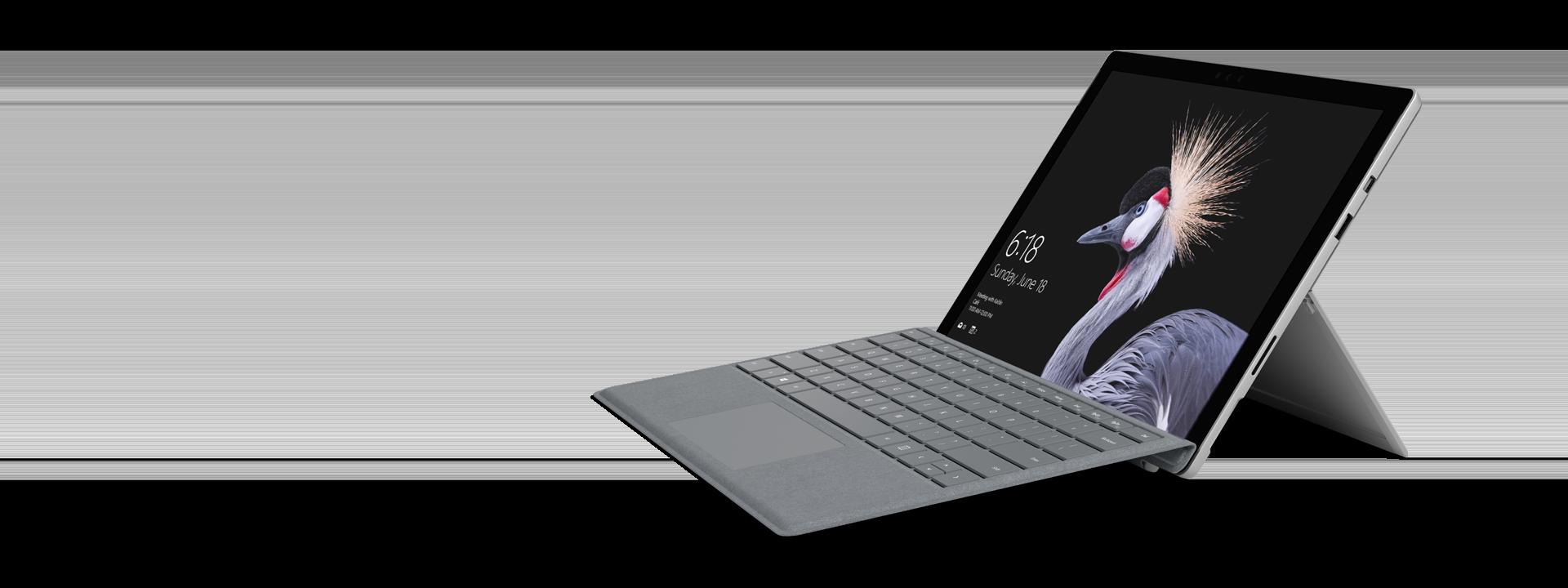 プラチナの Surface Pro