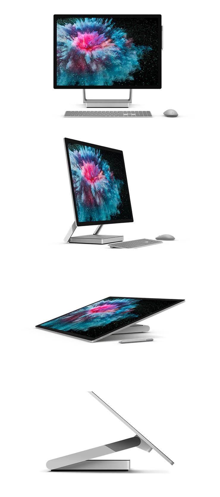 Surface Studio 2 本体正面