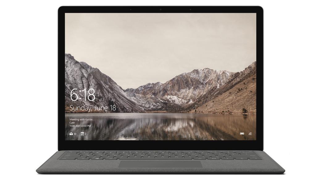 グラファイト ゴールドの Surface Laptop