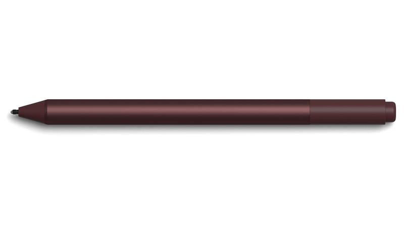 バーガンディの Surface Pen