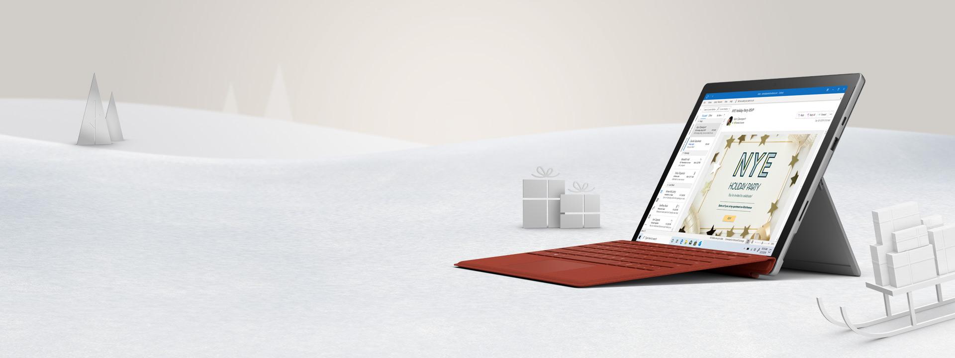 新しい Surface Pro 7 で可能性を