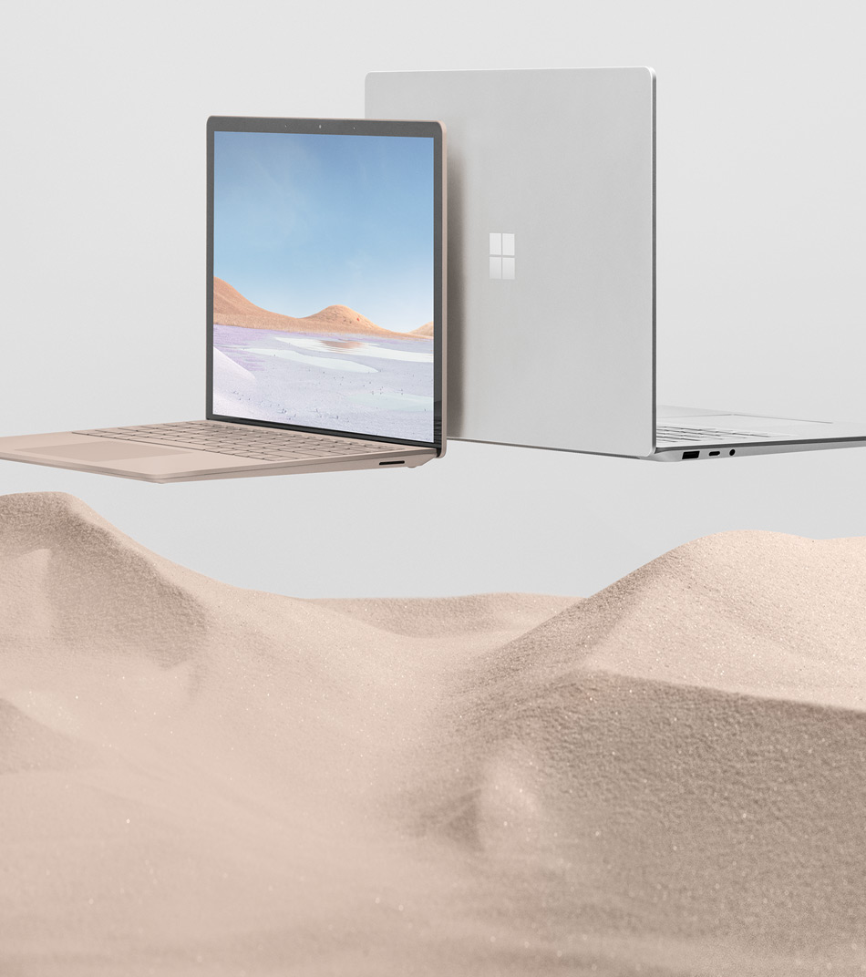 13.5 インチと 15 インチの Surface Laptop 3